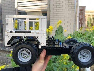 【顺丰】玩具车兼容乐高越野车遥控车跑车系列机器人成人高难度拼装积木大G65科技机械组911模型汽车遥控G6越野车2208片