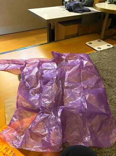 博沃半透明磨砂成人雨衣雨披男女士长款带帽一次性雨衣