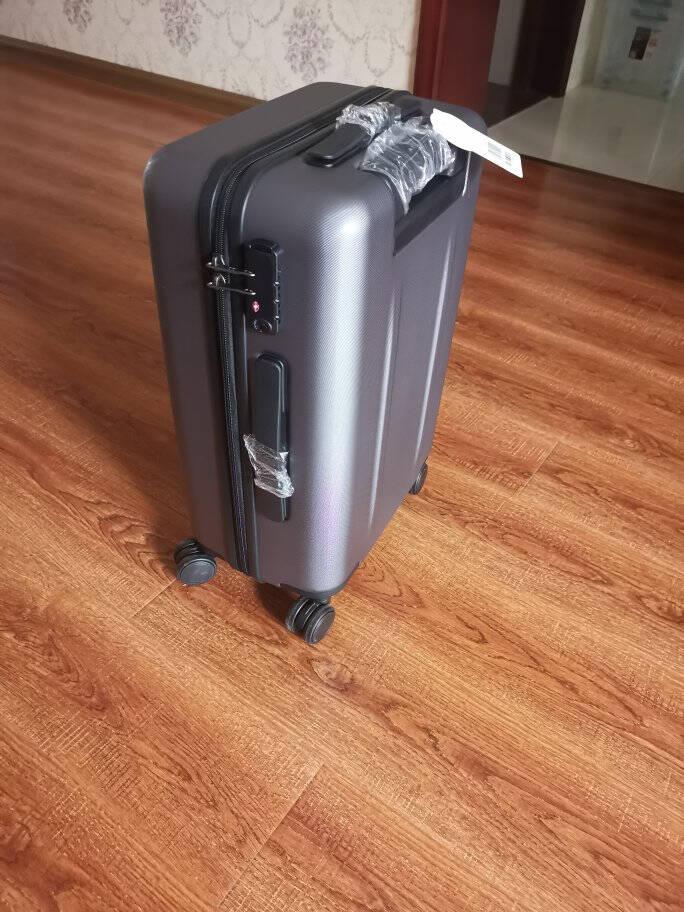 90分行李箱PC旅行箱男女静音万向轮拉杆箱多瑙河28英寸托运箱月光白