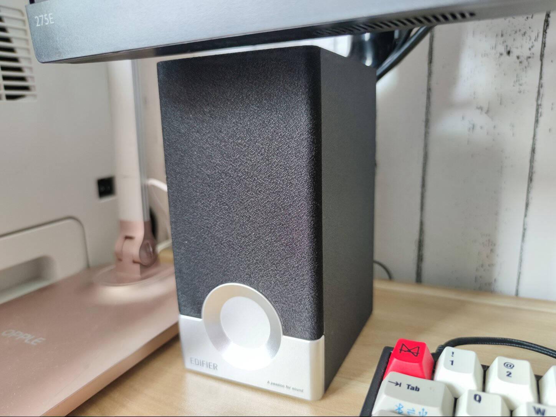 漫步者(EDIFIER)R18T2.0声道木质多媒体音响音箱电脑音响黑色