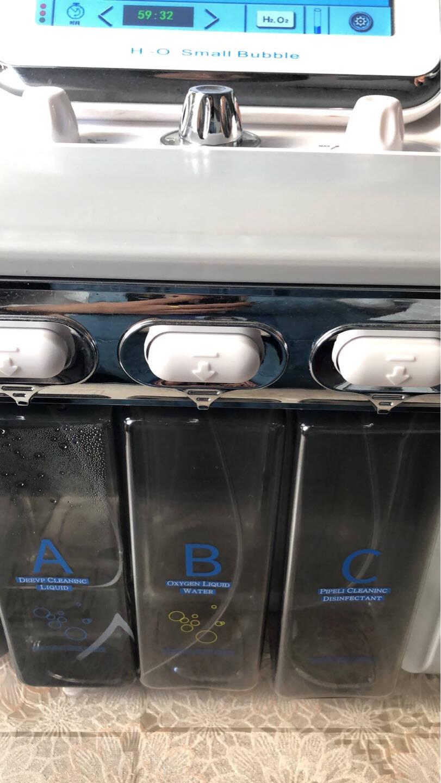 氢氧大气泡美容仪韩国微小气泡清洁仪美容院专用吸黑头家用美容仪器提拉紧致清洁仪水氧注氧仪新款二代氢氧大气泡+推车
