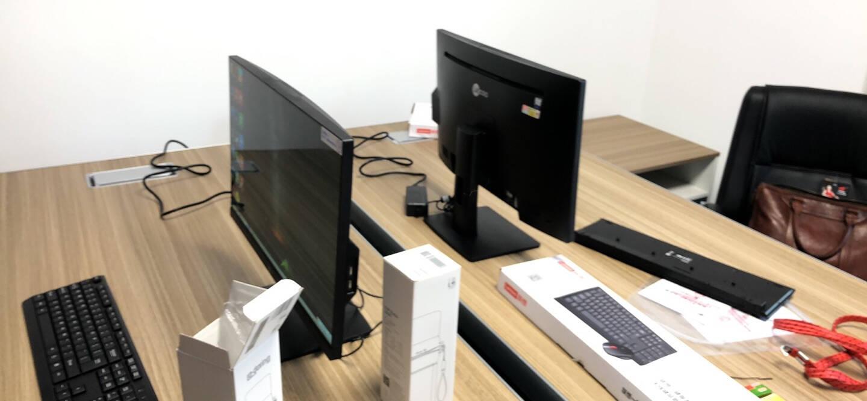 联想(Lenovo)来酷LecooAIO一体机办公家用一体电脑23.8英寸全高清屏奔腾J37108G256GSSD无线键鼠