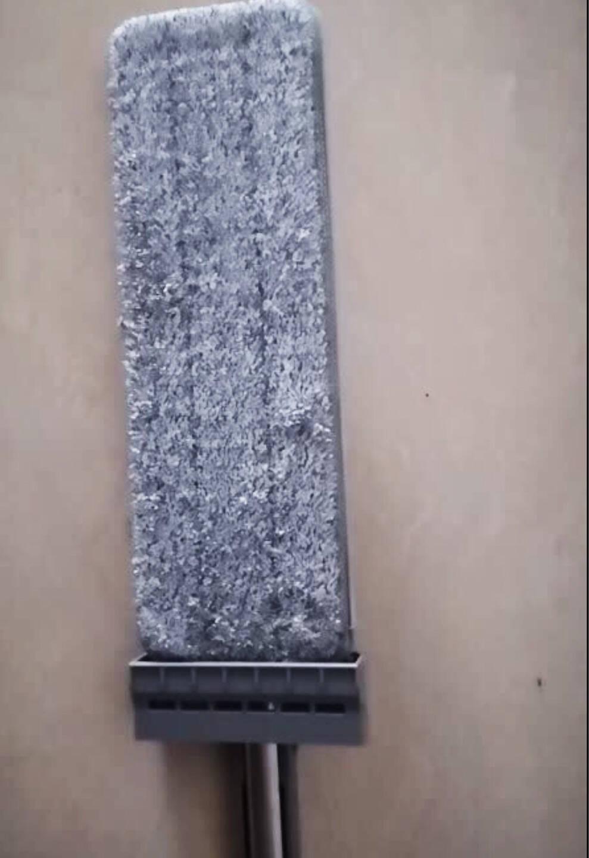 百家好世免手洗平板拖把办公室木地板懒人擦地墩布自动回弹家用吸水托地把除尘清洁拖地神器共3块布