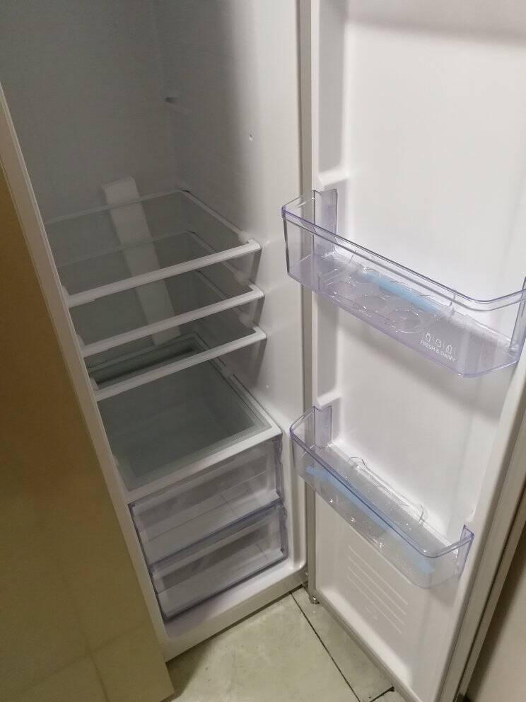 【官方直营】美的(Midea)对开门450L风冷智能超薄家用双开门电冰箱BCD-450WKZM(E)