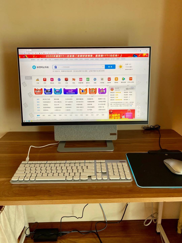 联想(Lenovo)YOGA27可旋转27英寸4K屏一体机台式电脑(AMDR7-5800H16G2T+512GSSD)王一博定制版