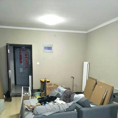 乐图美居LETUNOME墙布斜纹电视背景墙现代简约无缝壁布卧室客厅整张定制DLS-T06--23嫩绿色每平方米
