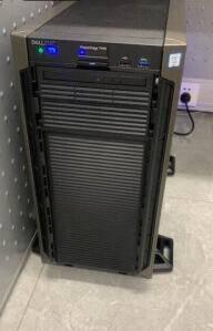 戴尔DELLT440服务器主机塔式用友金蝶ERP财务系统台式电脑文件存储1颗铜牌3204丨6核1.9G16G内存丨2块2TSASH330