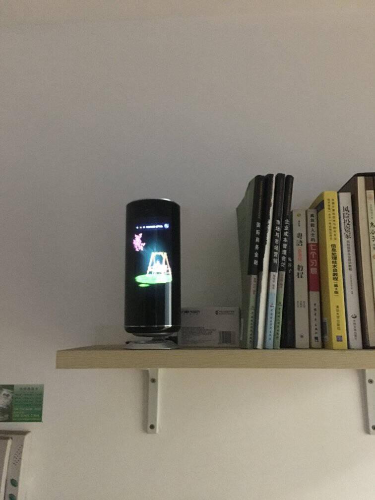 欧博思(Obexx)全息投影智能虚拟机器人AI换脸语音对话音箱成人儿童学习成长早教陪伴机器人AIBOX(标准版)