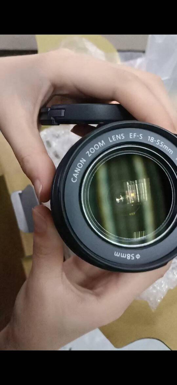 佳能(Canon)EOS2000D单反相机数码照相机入门级配18-55mm镜头单机+18-55mm镜头