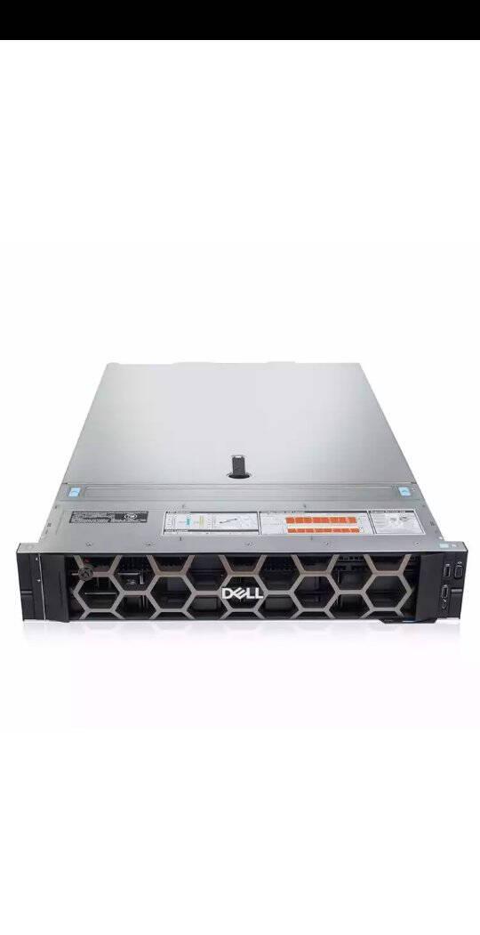 戴尔(DELL)服务器R740/R730双路机架式服务器主机至强2U服务器HPC/虚拟化/WEBR7401*铜牌32046核1.9G/单电16G内存+1T企业级*2+H330