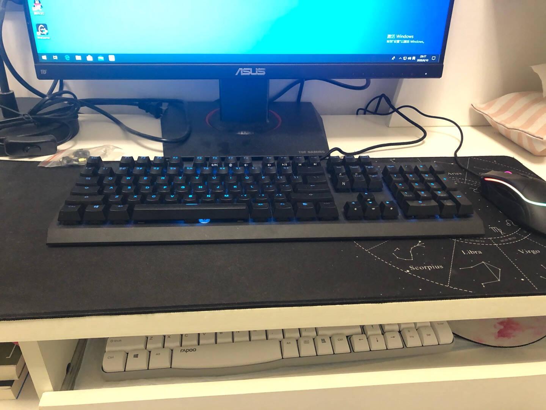 华硕TUF23.8英寸电竞显示器电脑显示器电竞小钢炮144Hz显示器IPSELMB旋转升降带音响VG249Q