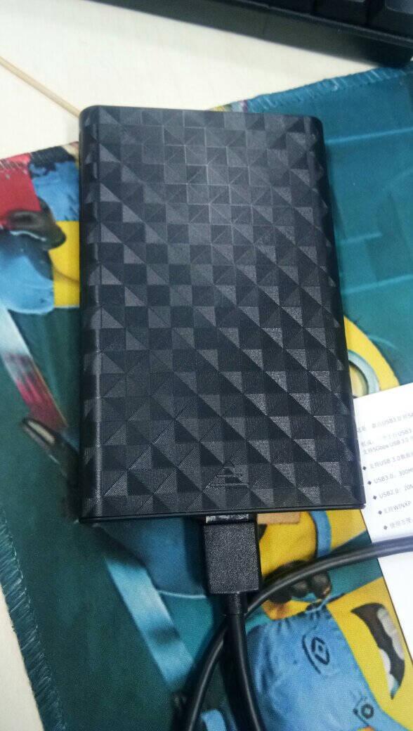 联想(Lenovo)移动硬盘盒2.5英寸USB3.0SATA串口笔记本电脑外置壳固态机械ssd硬盘盒S-02