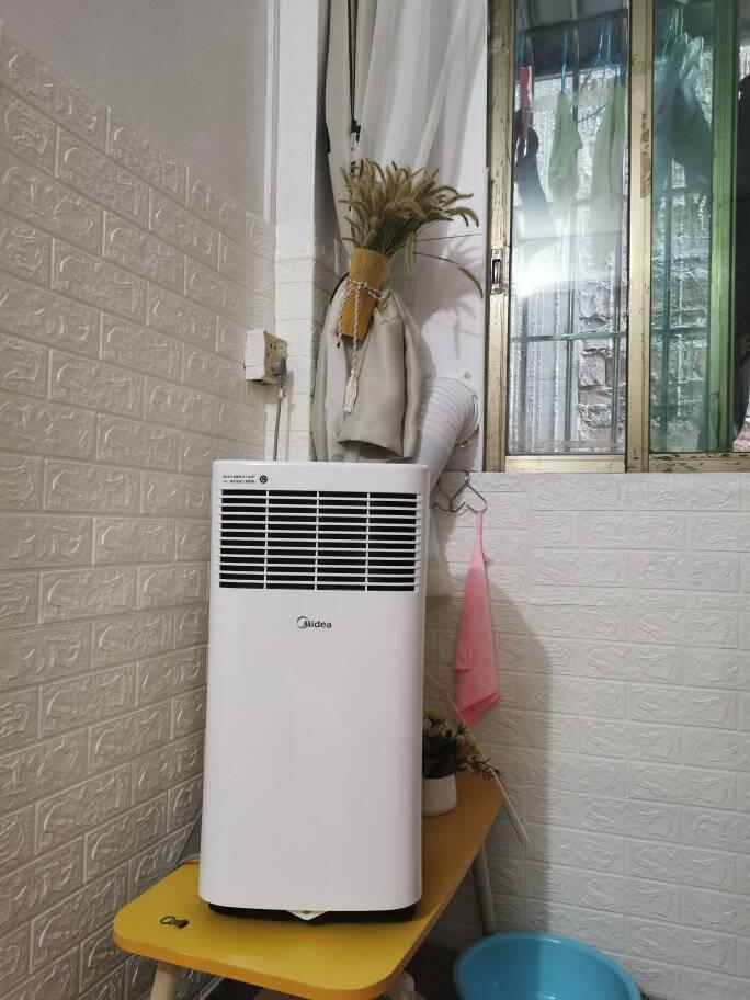 美的(Midea)移动空调冷暖1.5匹变频家用厨房一体机空调免安装免排水KYR-35/BP3N8Y-PT
