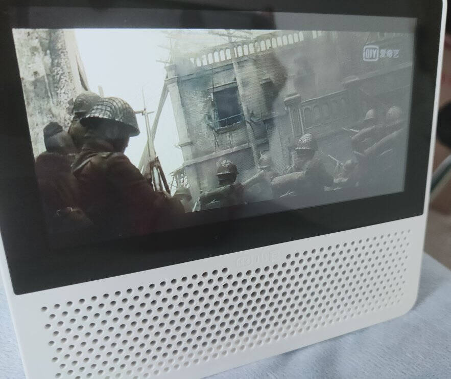 小度智能屏Air平板电脑在家触屏音箱蓝牙/WiFi音响视频通话海量多媒体资源中秋送礼白色
