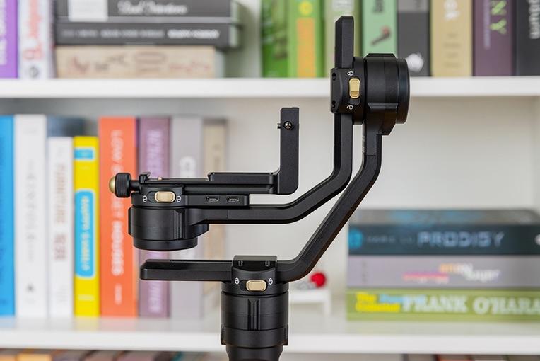 智云云鹤2S相机手持云台,Vlog拍摄三轴防抖
