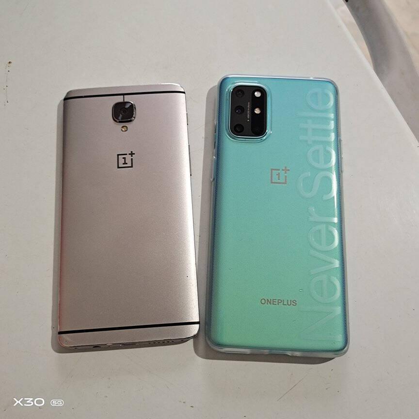 一加手机OnePlus8T5G旗舰120Hz柔性直屏65W闪充高通骁龙865超清四摄12GB+256GB青域拍照游戏手机