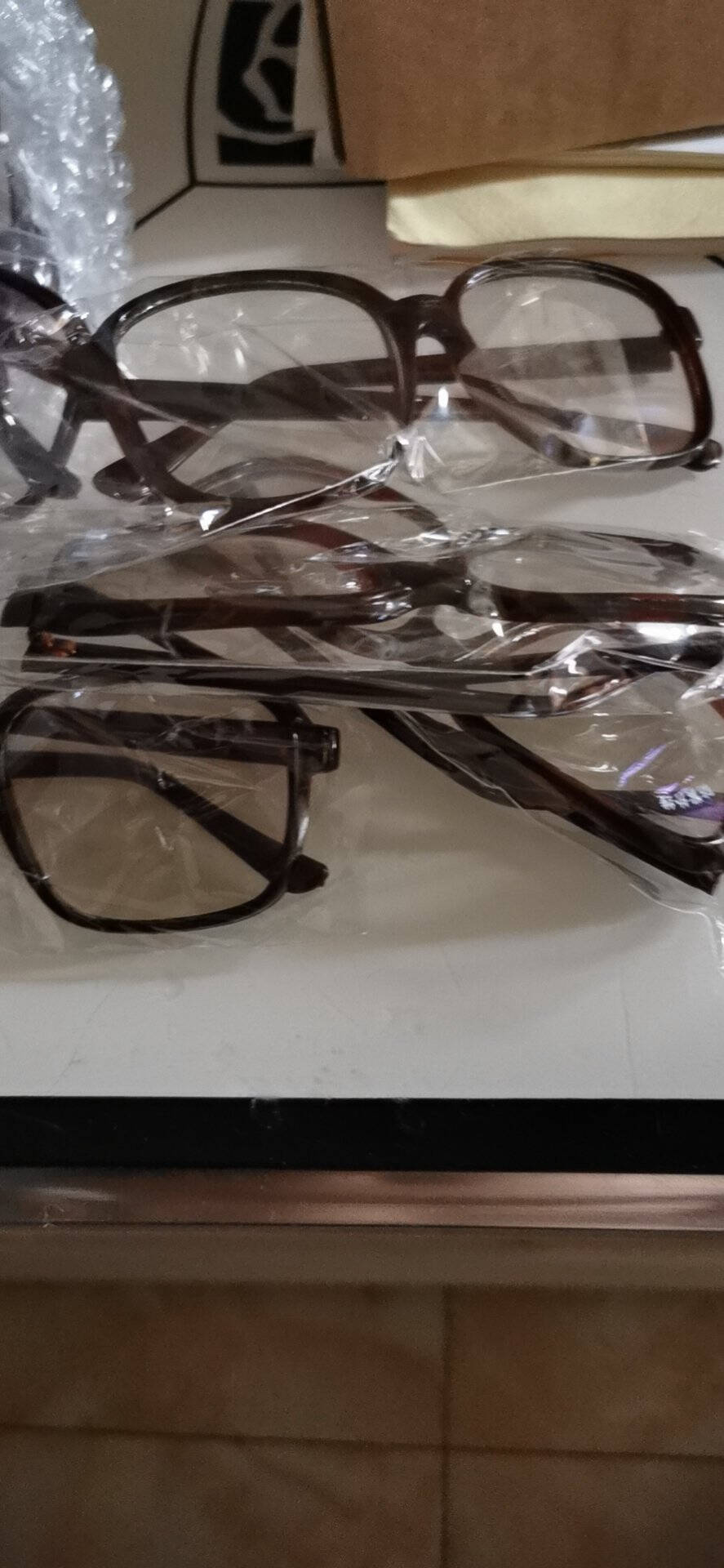 防紫外线电焊眼镜焊工防护眼镜劳保防铁屑氩弧焊平光镜玻璃眼镜透明镜片均码