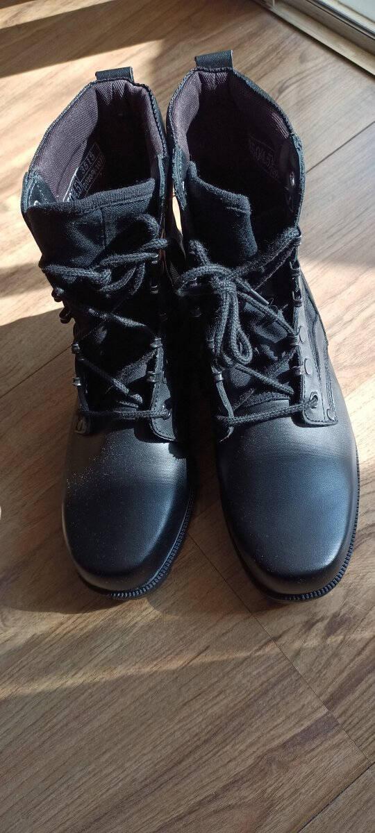 强人男靴双密度作战靴际华3515工装耐磨皮靴户外军迷训练靴子黑色43码