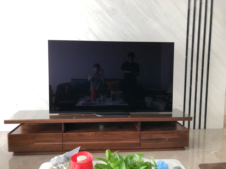索尼77英寸超高清OLED电视,画面显示效果非常棒