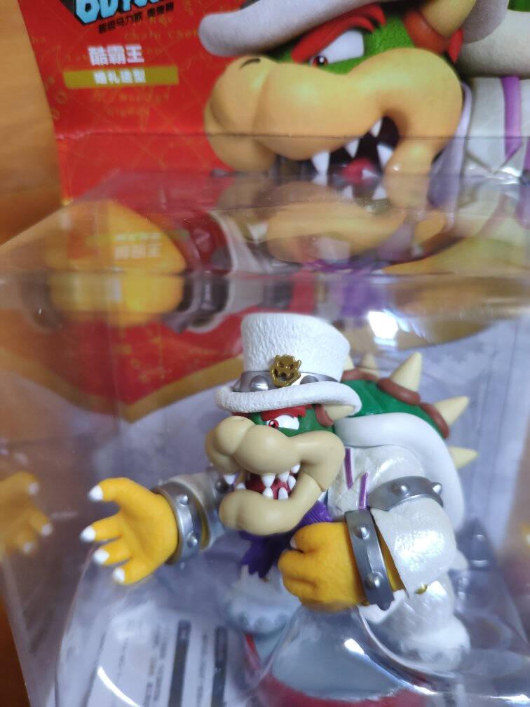 任天堂NintendoSwitch国行amiibo游戏互动模型NS周边配件酷霸王婚礼造型