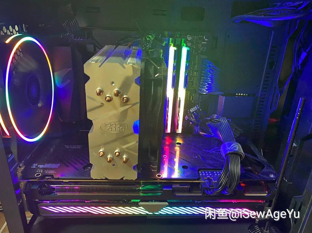 华硕ASUSROG-STRIX-RX6700XT-O12G-GAMINGRadeonRX6700XT电竞游戏显卡A卡