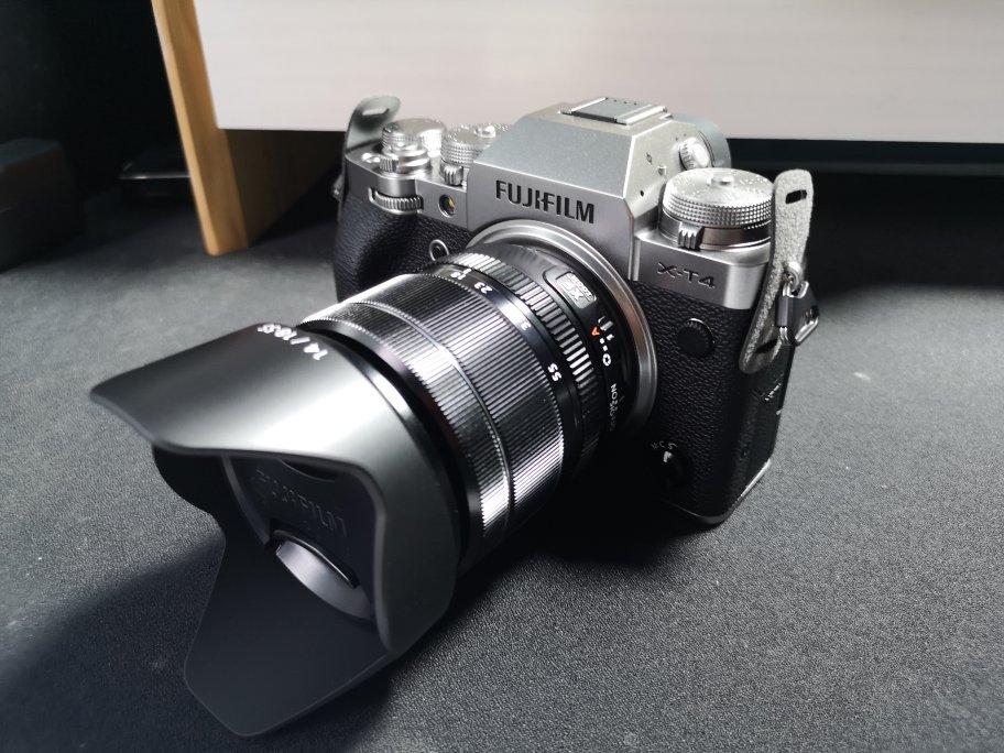 富士XT4微单相机套机,送女朋友拍摄稳定视频礼物