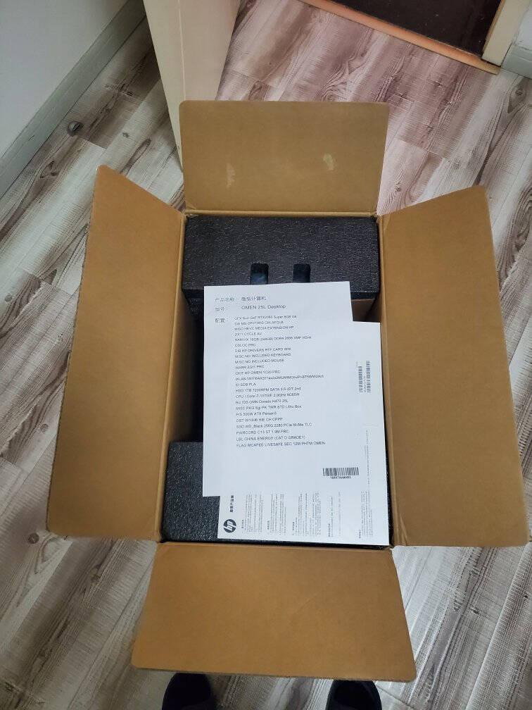 惠普(HP)暗影精灵6Pro全面版游戏台式电脑主机(11代i7-11700FRTX3060Ti16G256GSSD+1TB8G独显)