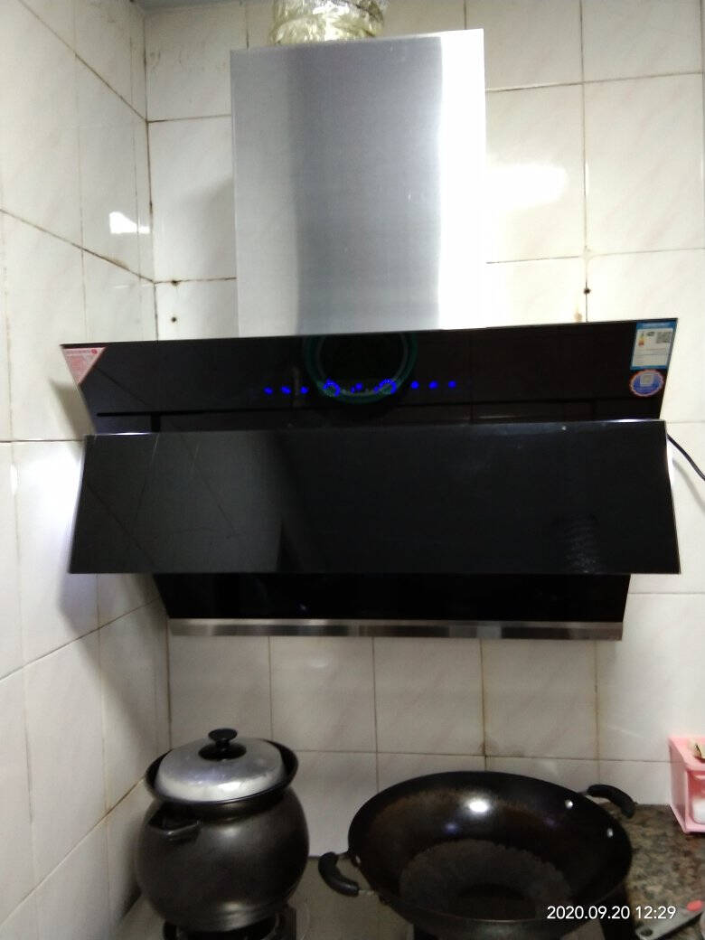 森太(SETIR)B560QG抽油烟机侧吸式脱排自动清洗吸油烟机大吸力家用抽烟机二代体感自动洗