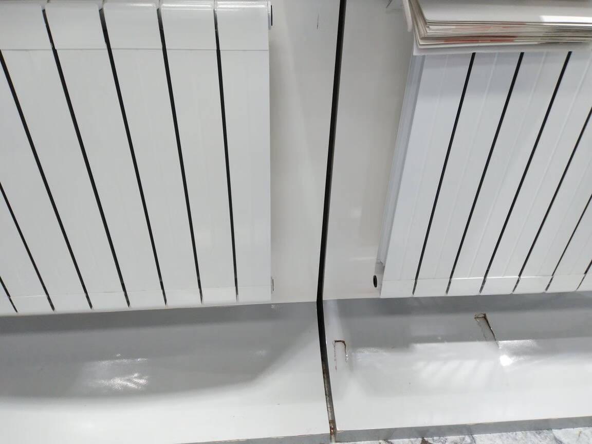 金旗舰暖气片暖气片家用水暖铜铝复合散热器75系列大水道采暖暖气75/75款上门设计测量订金专拍可抵货款可退