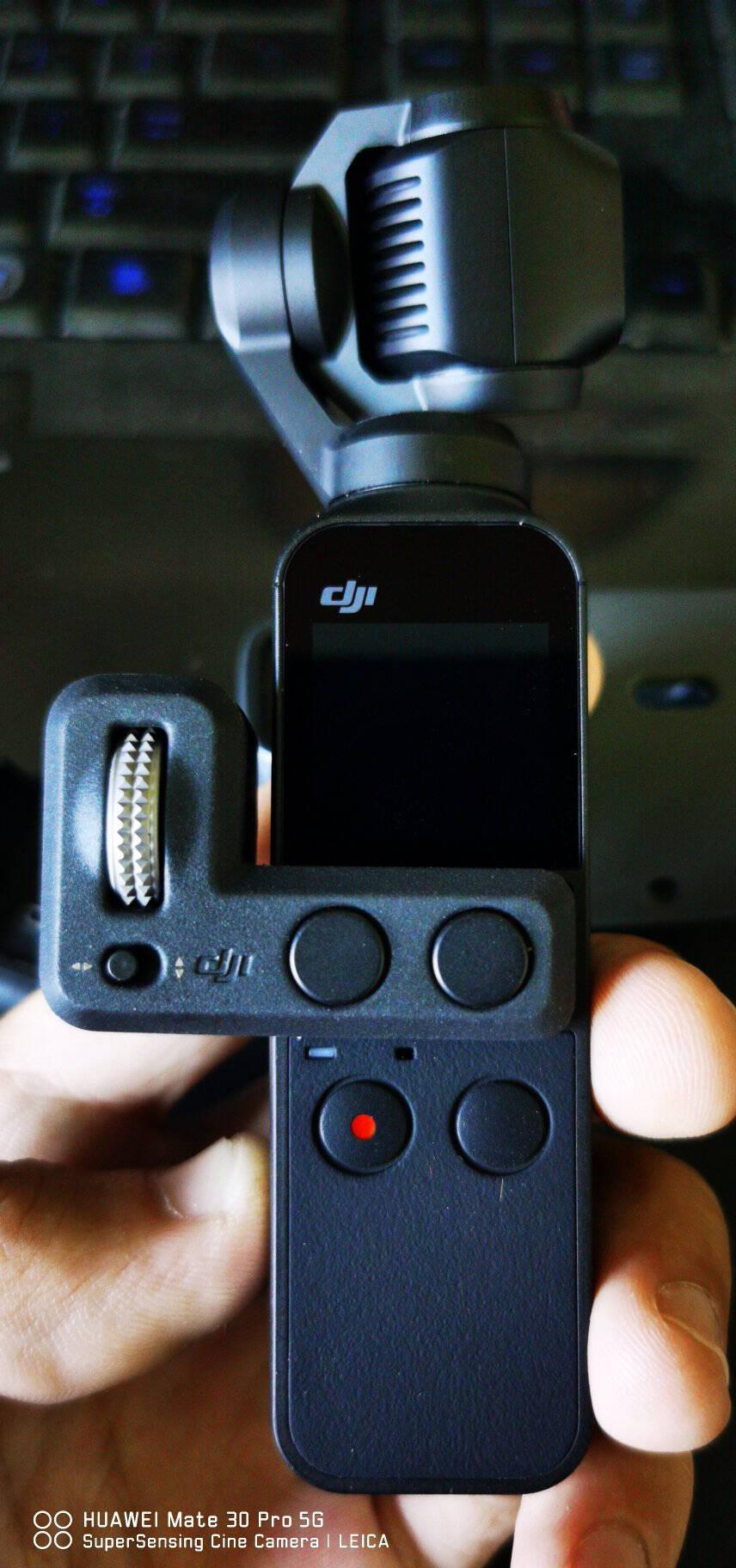 DJI大疆OsmoPocket京东定制畅玩套装口袋云台相机迷你手持云台相机Vlog拍摄无损防抖美颜运动