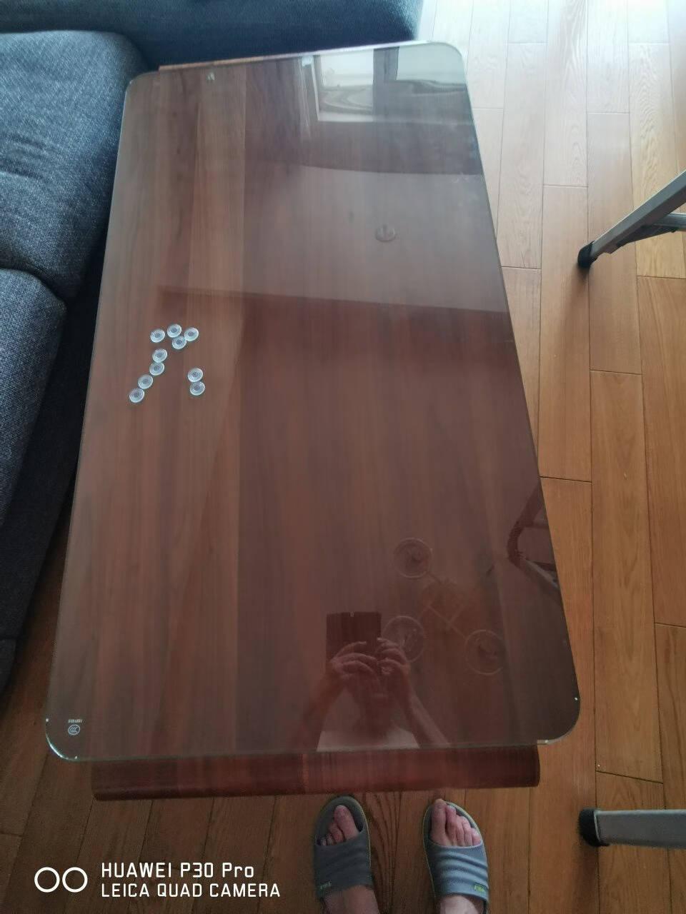 创格莱斯钢化玻璃定制定做桌面餐桌茶几台面玻璃板面长方形圆形