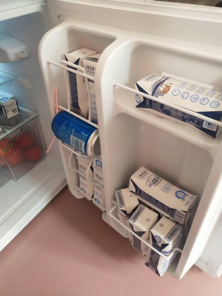 美的(Midea)88升双门迷你小冰箱租房宿舍办公室家用冷冻冷藏小型节能环保省电静音电冰箱BCD-88CM