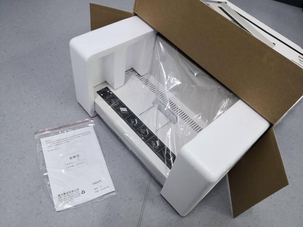 得力(deli)3867热熔封套热熔装订机专用装订封皮A4/6mm(10个装)