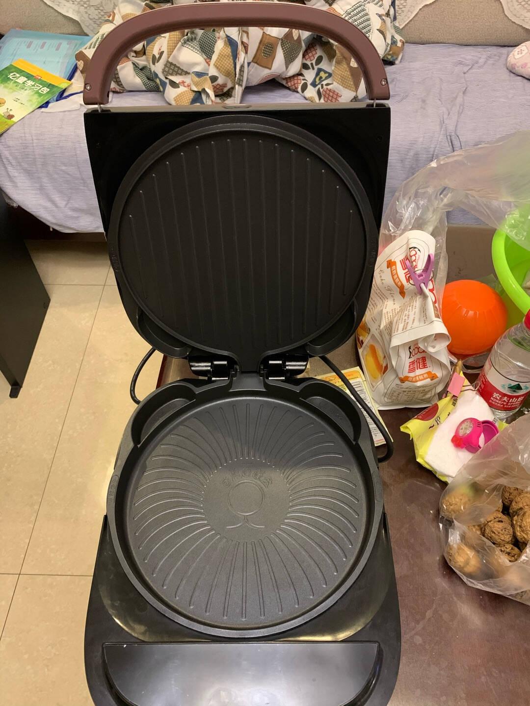 苏泊尔SUPOR电饼铛家用双面加热加深烤盘上下可拆洗烙饼锅三明治机煎烤机煎饼铛早餐机蒸汽电饼铛JD30RQ802