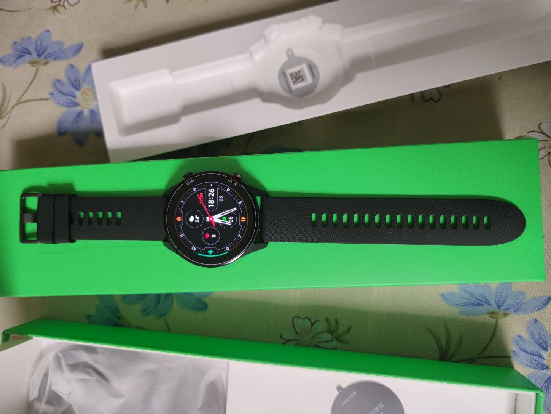 小米手表Color,送男朋友潮款生日礼物