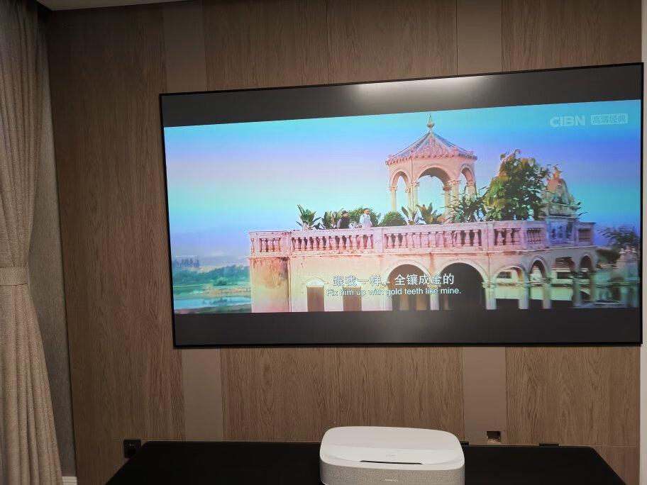 极米皓LUNE激光投影仪,带来电影院级的观影体验