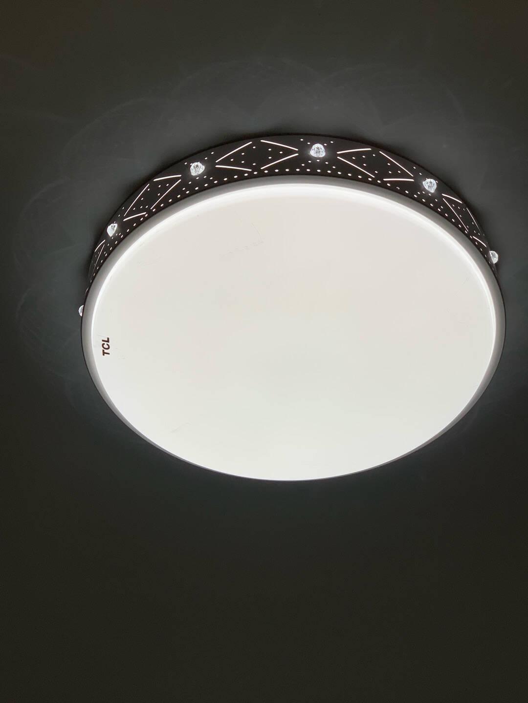 TCL照明客厅灯具led吸顶灯中式卧室灯阳台灯餐厅灯北欧套餐特蕙大客厅72瓦三色80*58cm适18-26平