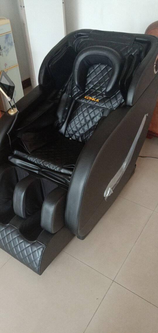 【上市集团】康佳(KONKA)按摩椅豪华家用全身太空舱零重力全身电动按摩椅按摩沙发20年玉石尊享灰+AI大屏+玉石机芯+腰部锗石艾草