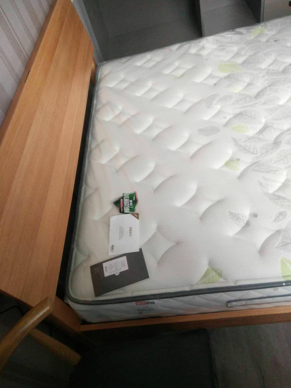 喜临门泰国进口乳胶床垫抑菌功能天丝面料床垫独立静音弹簧床垫适中偏软床垫1.8米主次卧床垫享睡1500*2000