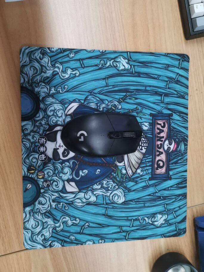 东来也国潮鼠标垫小号游戏动漫电竞方形潮流办公电脑键盘桌垫PandaQ