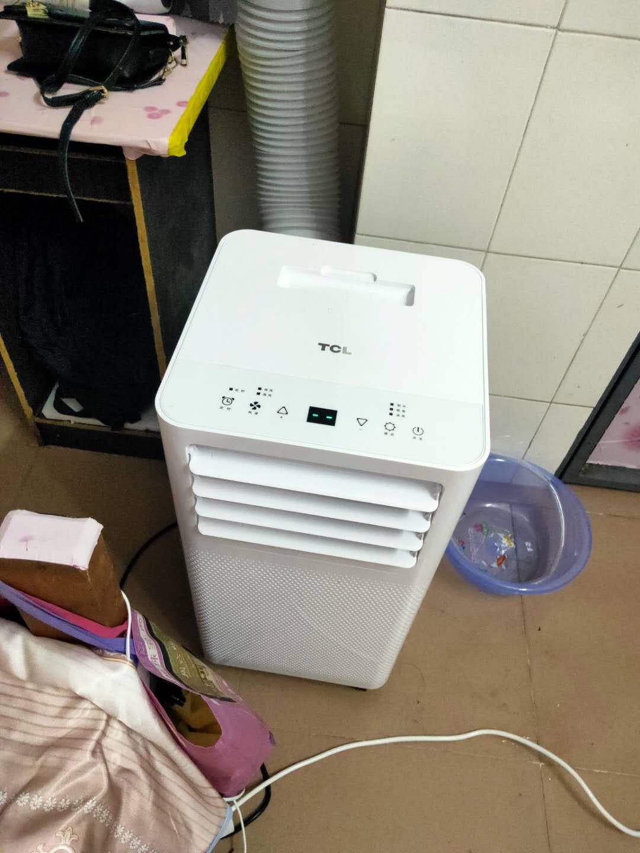 新科(Shinco)移动空调大1P单冷一体机免排水立式免安装出租房制冷量2600w小空调KY-26/F1