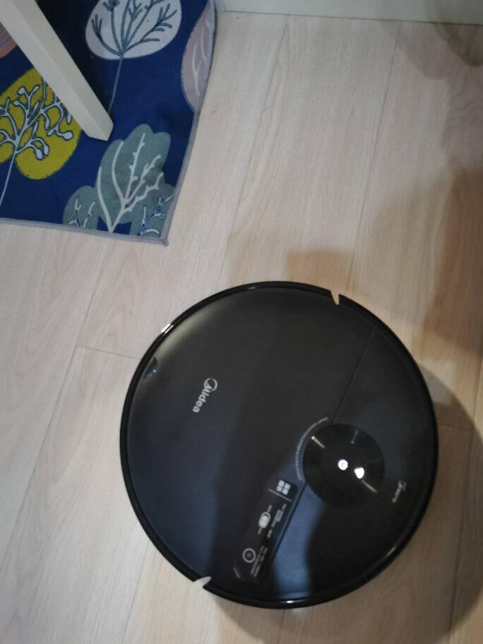 美的(Midea)扫地机器人扫拖一体吸尘器家用全自动大吸力智能拖地机器人i50Pro曜石黑
