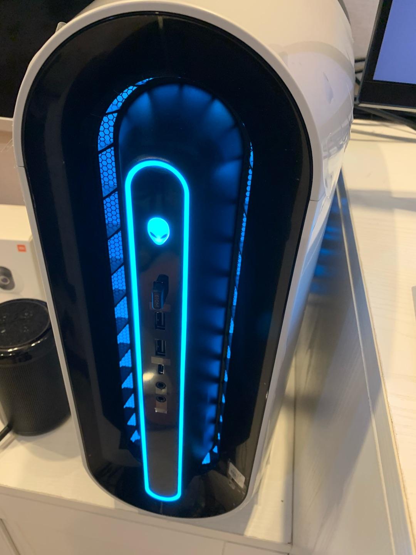 外星人水冷电竞游戏台式电脑,高端配置款轻松玩3A游戏
