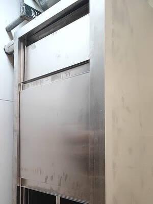 不锈钢橱柜工作台厨房橱柜碗柜厨房操作台面储物柜切菜桌子厨柜带拉门案板商用烘焙长120宽50高80单通组装款