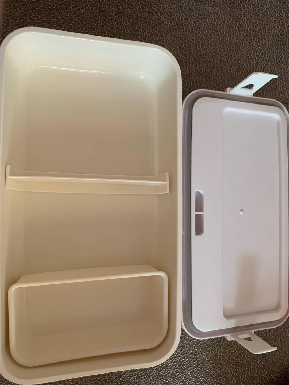 奥克斯(AUX)电热饭盒加热保温饭盒可插电免注水自热蒸饭便当盒全身水洗便携上班族带饭神器HX-DF01粉