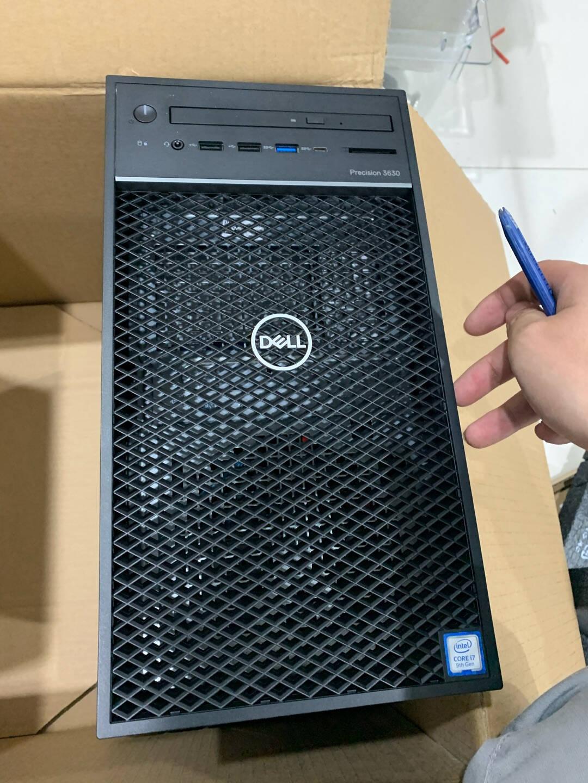 戴尔(DELL)T3630/T3640图形工作站塔式主机〡建模设计〡绘图渲染〡I3-101003.6GHz丨4核丨8线程8G丨128G固态+1T丨RTX20606G