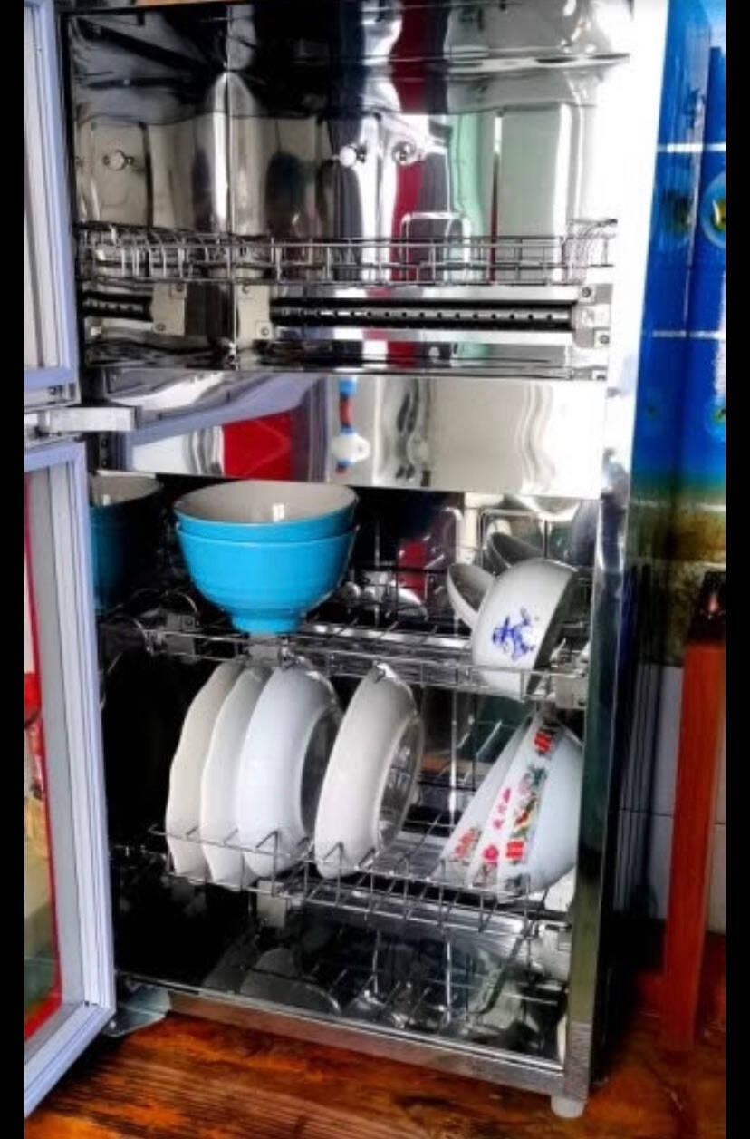 美的(Midea)消毒柜家用立式消毒碗柜碗筷小型二星级XC60