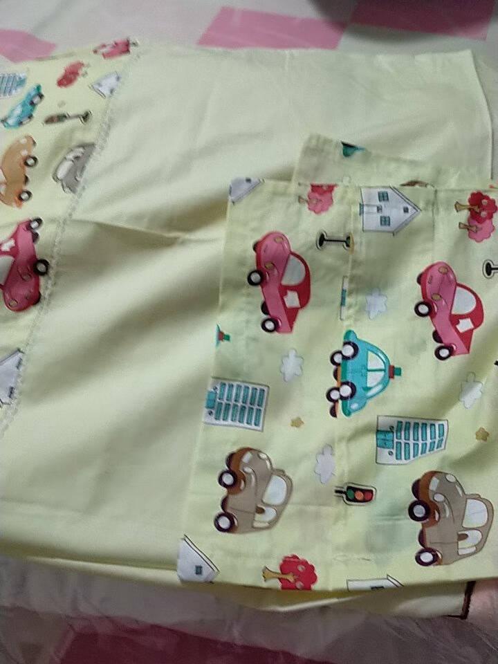 倍呵儿童枕头宝宝枕头荞麦枕幼儿园小孩枕头3-6-12岁四季通用含荞麦枕头+小汽车枕套