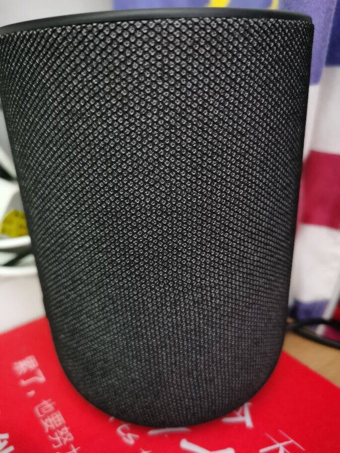 京鱼座音箱C1人工智能音箱AI无线WiFi蓝牙音乐音箱智能机器人语音控制生活助手声控家电太空黑