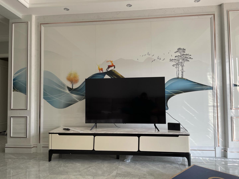 三星55英寸窄边框电视,带来优秀的专业影音画面